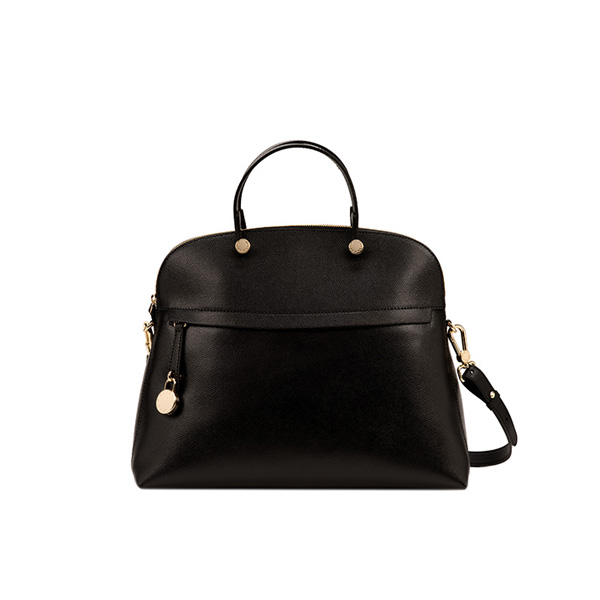 FURLA PIPER TOP HANDLE ONYX