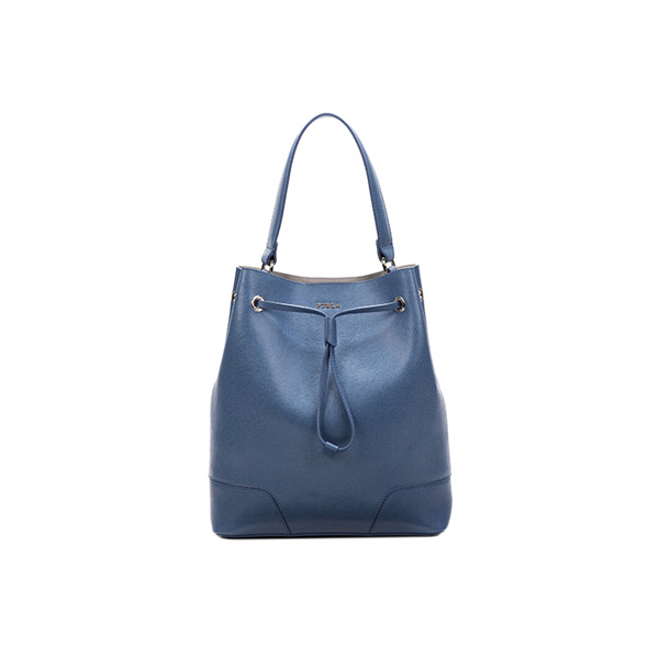 FURLA STACY DRAWSTRING INDACO