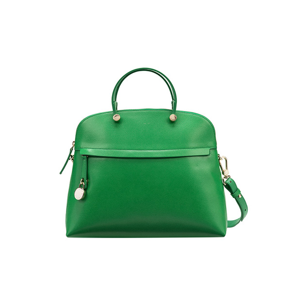 FURLA PIPER TOP HANDLE EMERALD