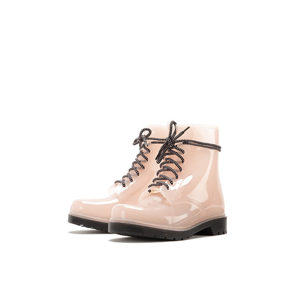 FURLA NEW GIO' LACE-UP ANKLE BOOTS MAGNOLIA