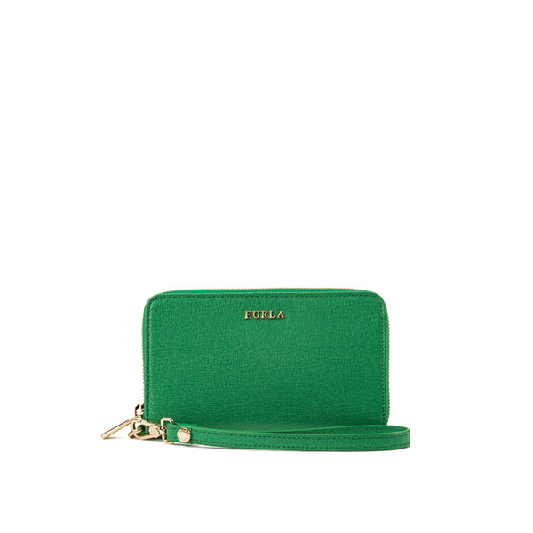 FURLA BABYLON ZIP AROUND EMERALD