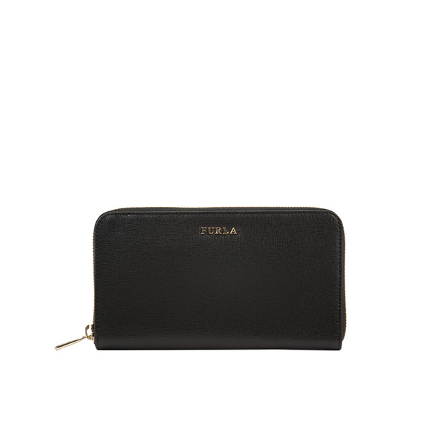 FURLA BABYLON ZIP AROUND ONYX